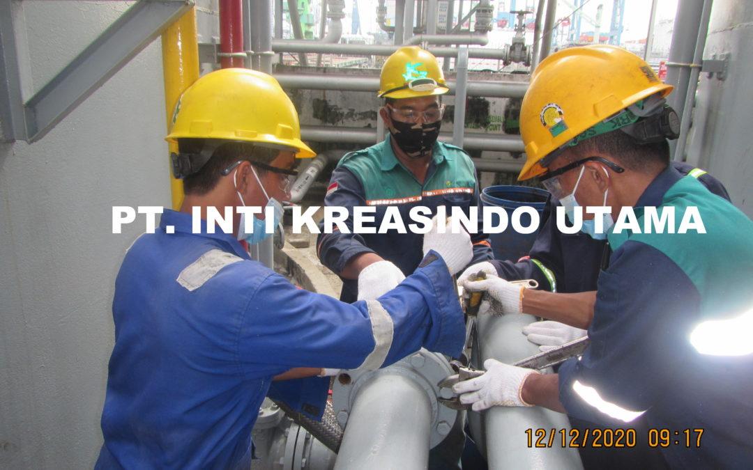CLEANING JALUR PIPA T.4 EX. MFO DAN T. 5 EX. IDO PT. AKR CORPORINDO Tbk
