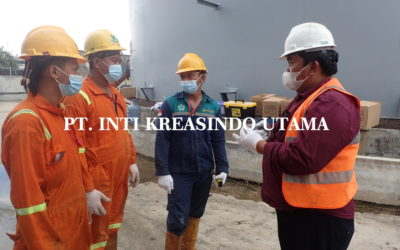 CLEANING TANK & WALL WASH TEST T.2-T.3 PT.TERMINAL NILAM UTARA