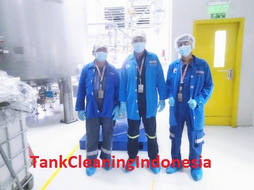 CLEANING TANKI FOOD DI PT. BARRY CALLEBAUT INDONESIA – GRESIK