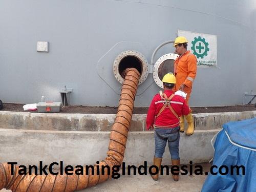Cleaning Tanki (Ex. CPO) Di PT. Terminal Nilam Utara
