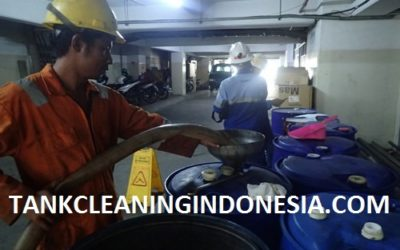 CLEANING TANKI SOLAR DI PT. SINARMAS LAND PLAZA