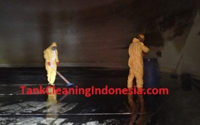 CLEANING TANKI T2 EX. CSL DI PT. AKR CORPORINDO TBK – TERMINAL AKR MEDAN