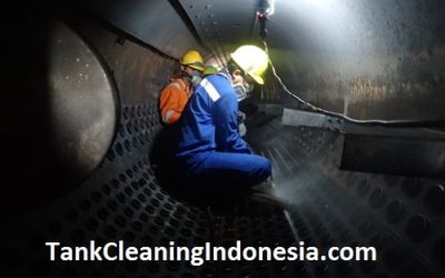 Cleaning Tanki Boiler di Pabrik Gula Kremboong Sidoarjo