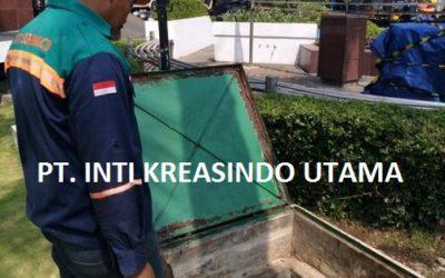 Pengurasan Tanki Solar Timbun 20KL di PT. BANK NEGARA INDONESIA SURABAYA