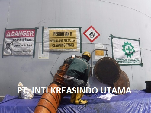 Cleaning Tanki T.07 dan T.08 2.200KL di PT. AKR CORPORINDO Tbk Terminal Lampung