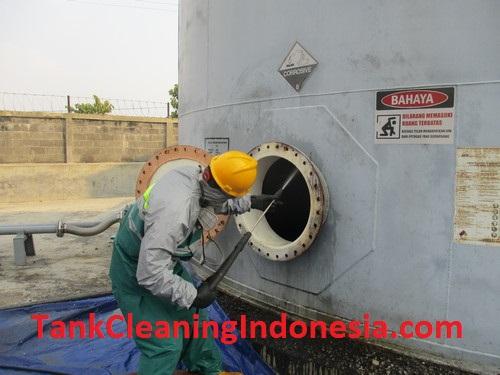 Jasa Pencucian Tangki Silo di Tangerang